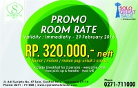 Promo Room Rate Solo Great Sale